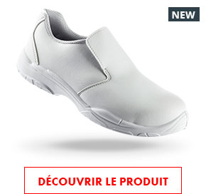 chaussures de sécurité S2 SRC blanches