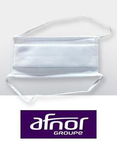 Masque Covid AFNOR