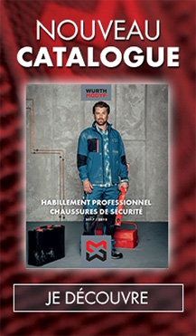 Demandez le catalogue Würth Modyf