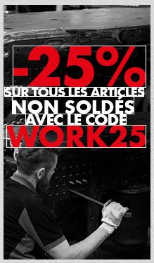 Offre exclu : -25% sur tous les produits non soldés