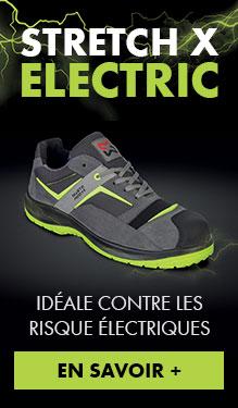 Chaussure de sécurité pour électricien