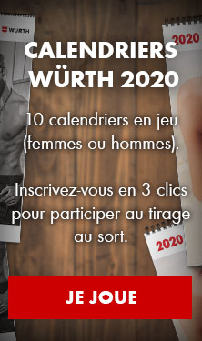 Concours pour gagner 10 calendriers Würth !