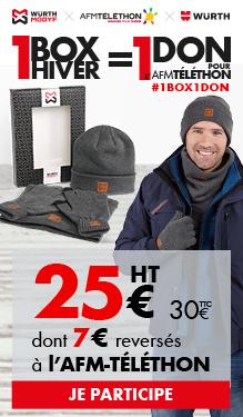 Opération Téléthon, 1 box = 1 don