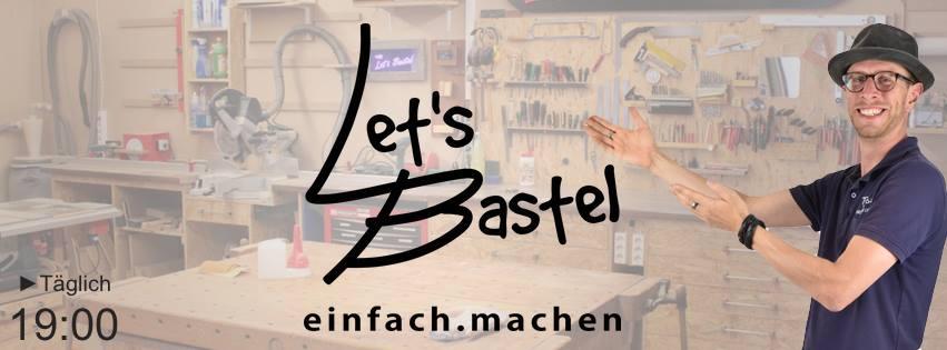 Let´s Bastel ist Ihr You Tube Channel für Tipps und Tricks rund um das Thema Basteln.