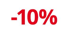 Jetzt anmelden und 10% auf Ihre nächste Einkauf sichern!