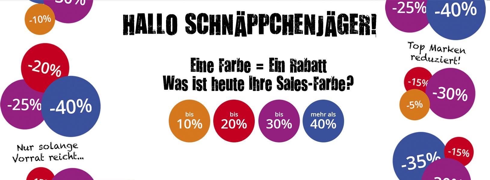 Sales Freizeitkleidung