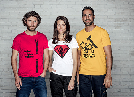 Moderne & bequeme Arbeits-T-Shirts entdecken