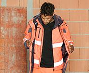 Neon Warnschutz Kollektion für Handwerker