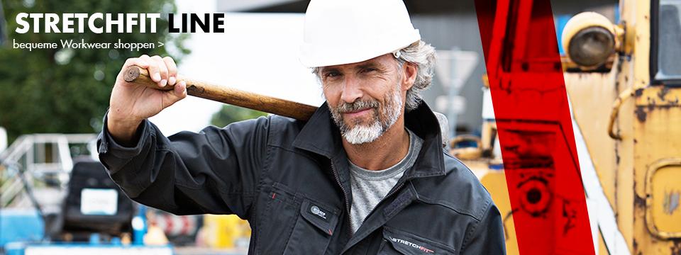 Stretch Arbeitskleidung: Perfekt für die Baustelle im Sommer