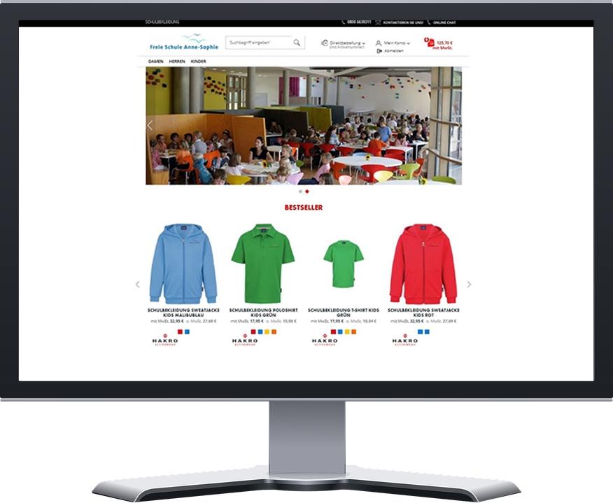 Anne-Sophie Online-Shop