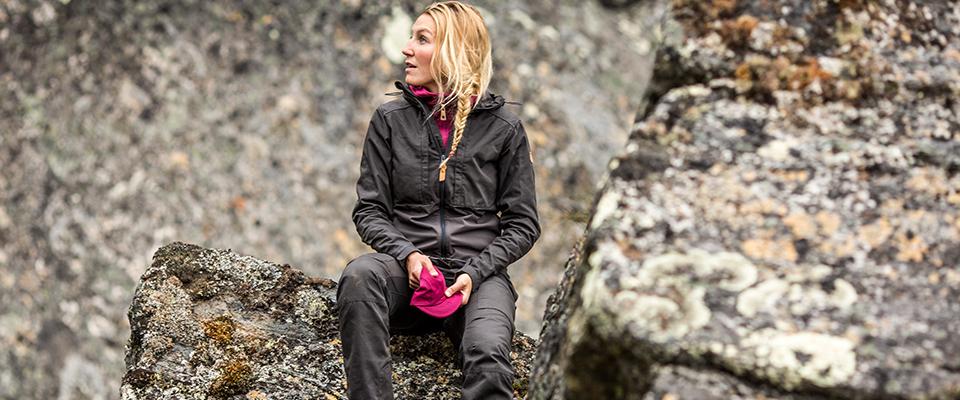 Robuste Outdoorjacke für Frauen - Ideal zum Wandern, Trekking