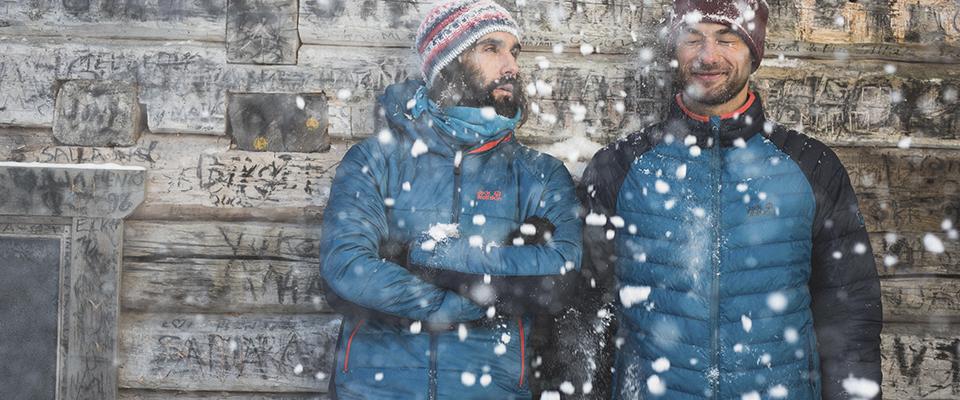 Gefütterte Herrenjacken Outdoorjacken für den Winter
