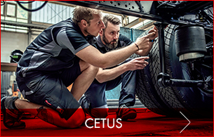 Metallfreie Cetus Arbeitskleidung nach ISO 15797 zertifiziert