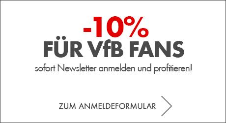-10% für die vfb Fans sofort profitieren