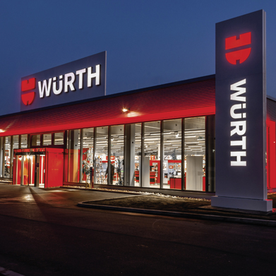 Würth Niederlassung, Würth Fan Kollektion