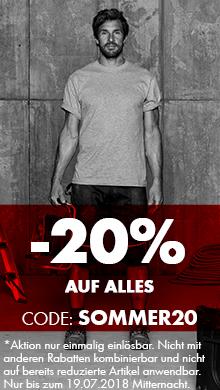 Sommer Sale: 20% auf alles
