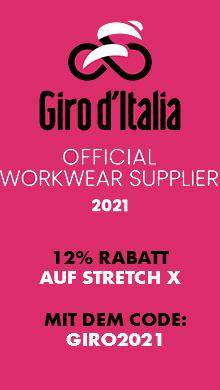Jetzt 12% sparen auf die gesamte Stretch X Kollektion: Giro d'Italia