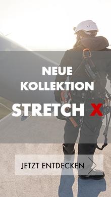 Neue Stretch X Arbeitskleidung Kollektion