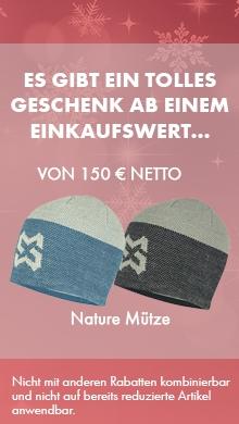 Mütze geschenkt ab Einkaufswert 150€ netto