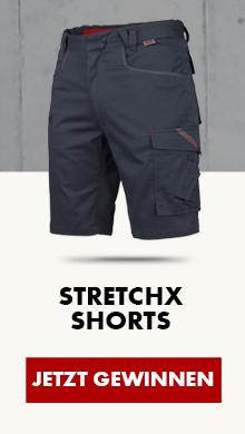 Jetzt mitmachen & Stretch X Shorts gewinnen