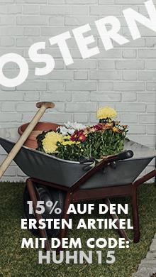 Oster Aktion: Sparen Sie 15% auf den ersten Artikel im Warenkorb