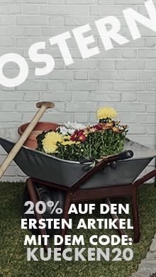 Oster Aktion: Sparen Sie 20% auf den ersten Artikel im Warenkorb