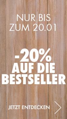 -20% auf die Bestseller Arbeitskleidung