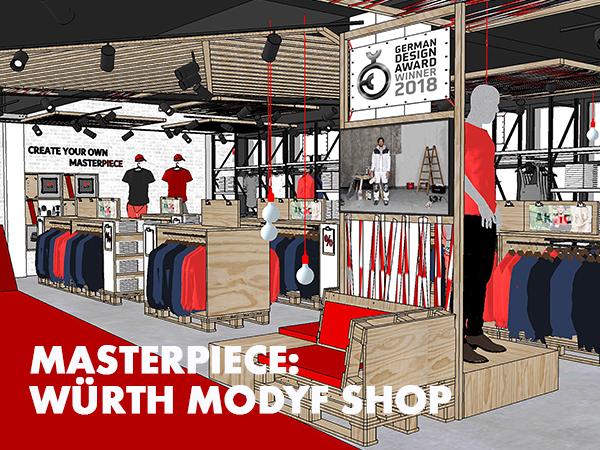 Neueröffnung: Würth MODYF Masterpiece Store