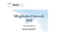 03-11-2020 Mitglied beim MaxTex Netzwerk