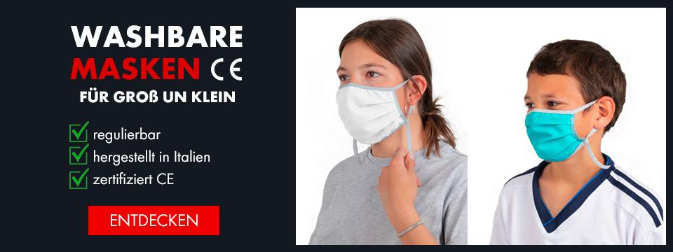 Waschbare Masken zertifiziert CE
