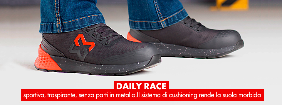 Scarpe antinfortunistiche Daily Race