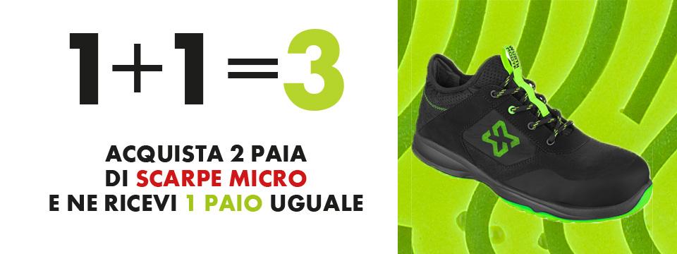 Scarpe Micro 2+1