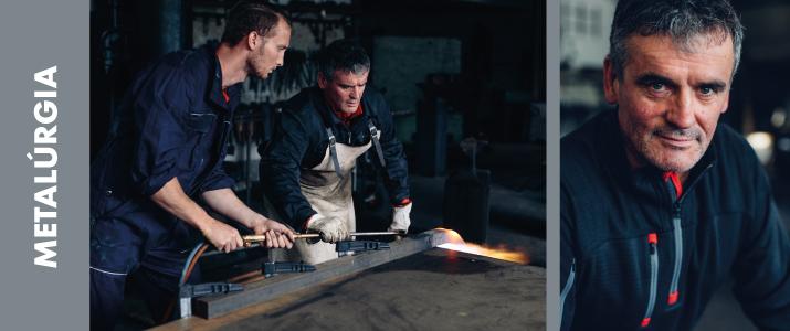 vestuario metalurgia